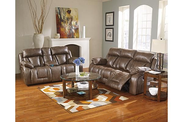 The Loral Reclining Sofa from Ashley Furniture HomeStore (AFHS