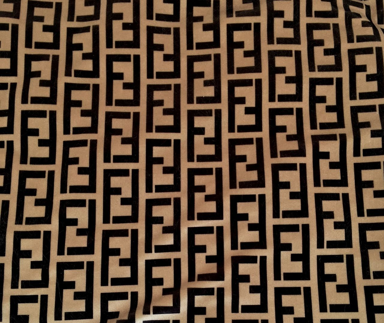 45aba48e6 Ritzy Baby Designs, LLC - Beige Fendi Velvet Designer Inspired Fabric by  the Yard,