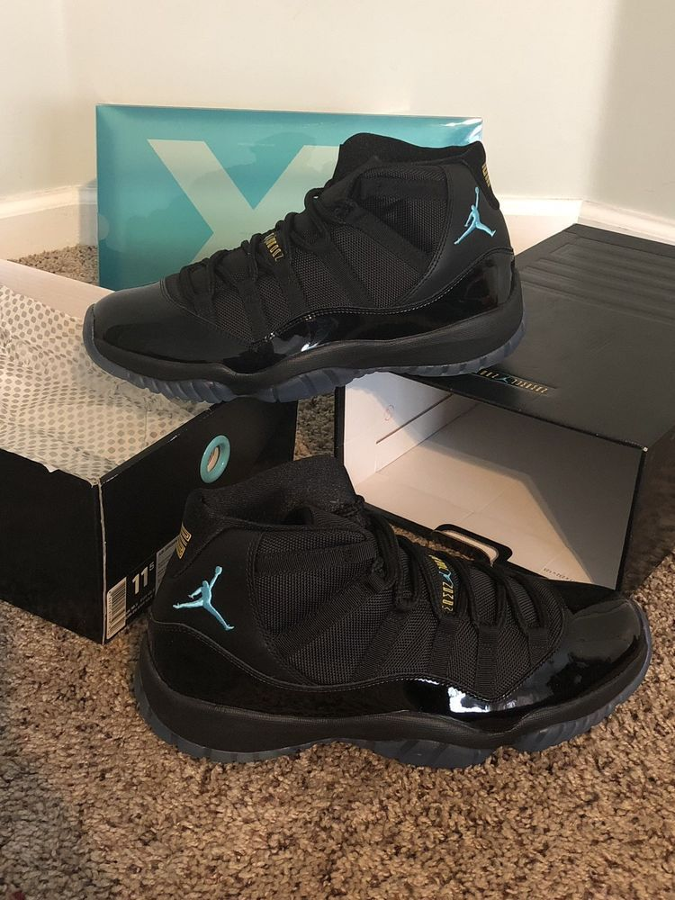 the best attitude 9aa60 76f4c air jordan retro 11 gamma Blue New Ds With Og Box Authentic %100  fashion   clothing  shoes  accessories  mensshoes  athleticshoes (ebay link)