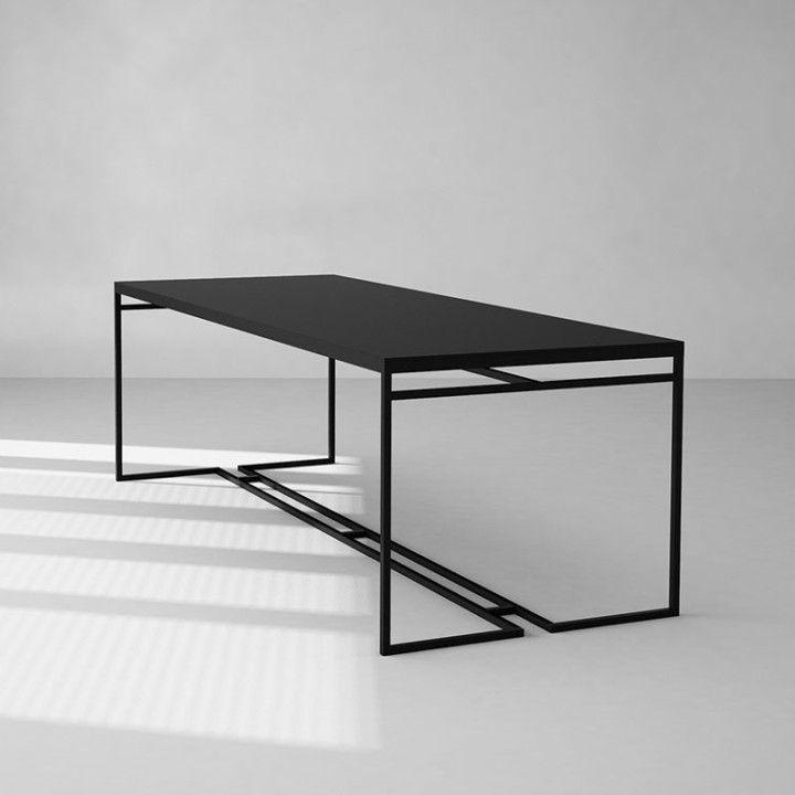 Mesa de comedor minimalista Marco | Mesa de comedor, Comedores y Mesas
