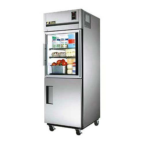 "True 29"" Combination Half-Door Reach-In Refrigerator - Specification Series(TG1R-1HG/1HS)"