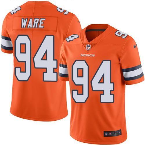 Explora Broncos De Denver, Naranja, ¡y mucho más! Nike Broncos #94 DeMarcus  Ware ...