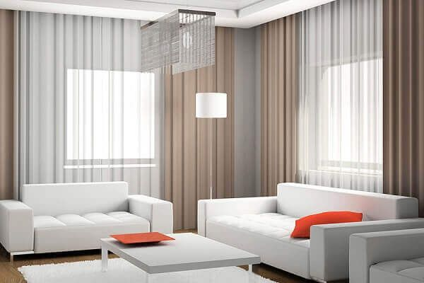 Salas Modernas Veja 40 Ideias De Ambientes Inspiradores Cortinas Para Sala Ideias Para Sala Cortinas Sala De Estar