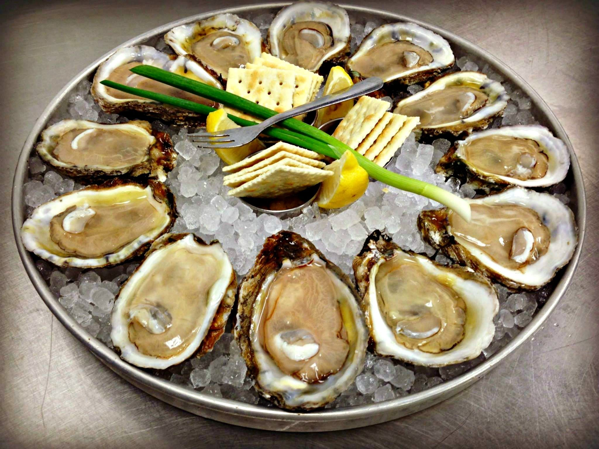 Fresh Oyster Platter At Boshamps Seafood And Oyster House Oyster House Fresh Oysters Coast Restaurant,How To Cook A Fully Cooked Ham