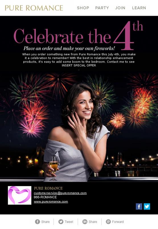 Celebrate the 4th   Pure Romance Media Center