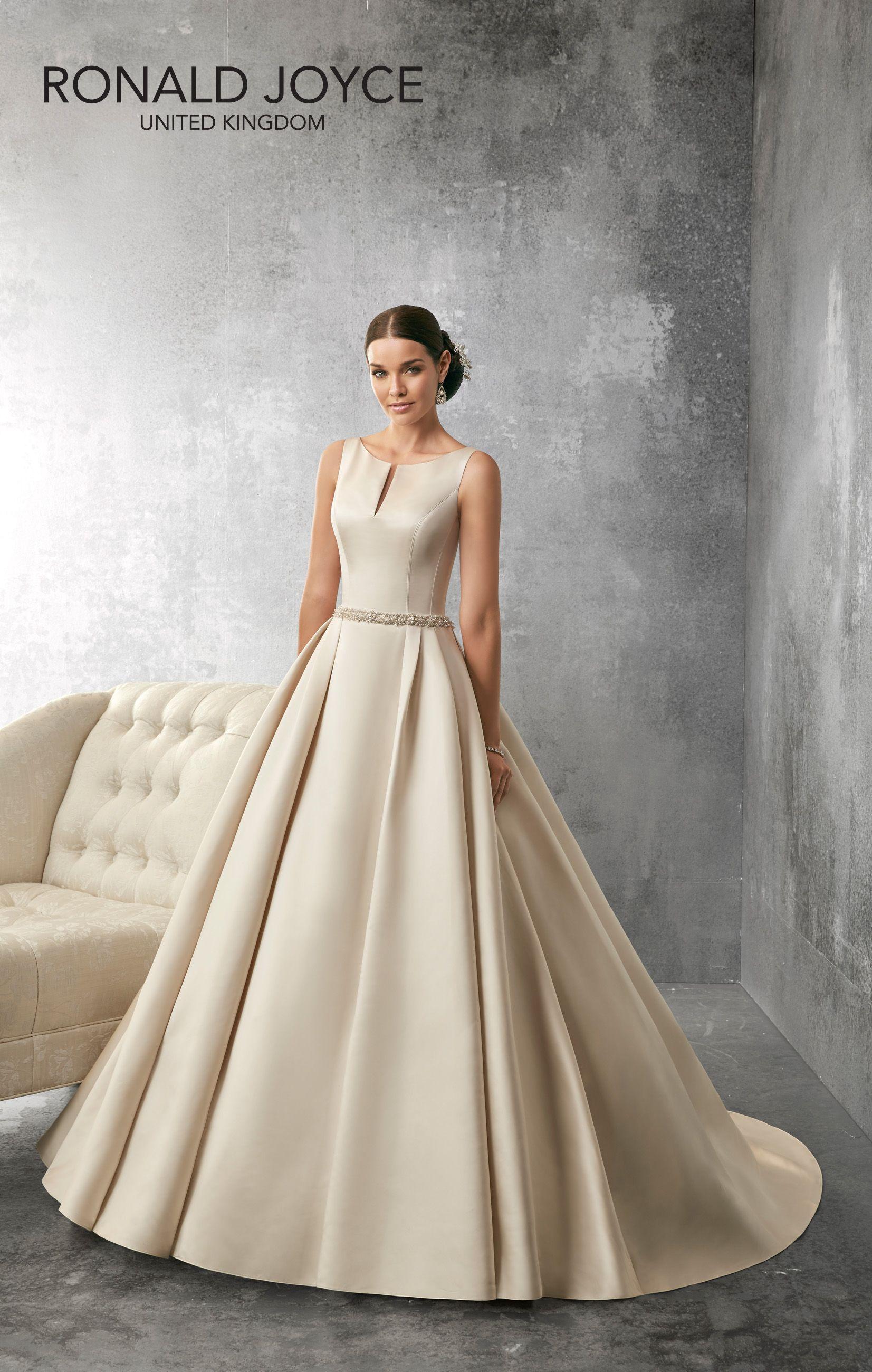 Designer Wedding Dresses Retro Size 12 Dress Bridal