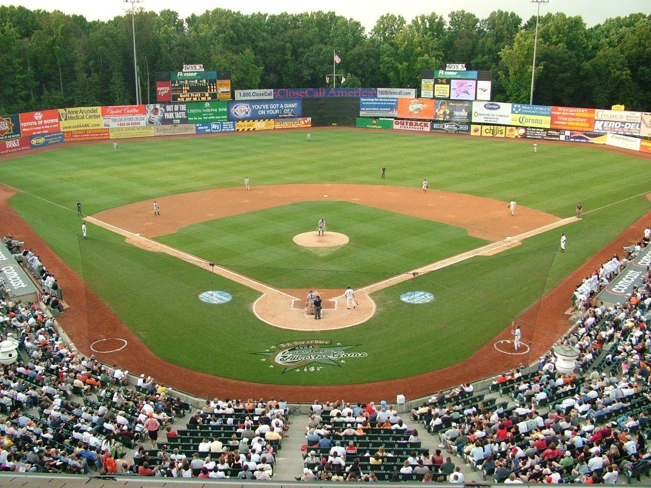 Prince George S Stadium Bowie Md Baseball Stadium Baltimore Orioles Minor League Baseball