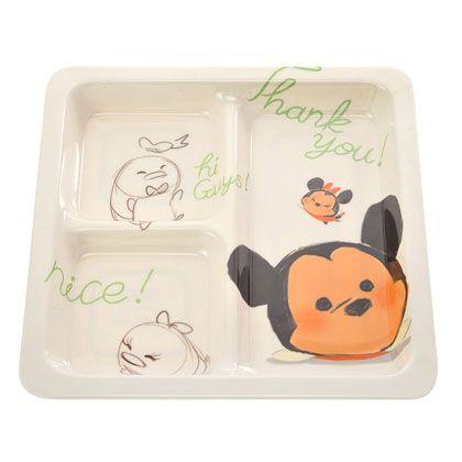 Mickey & Friends Tsum Tsum Melamine Plate