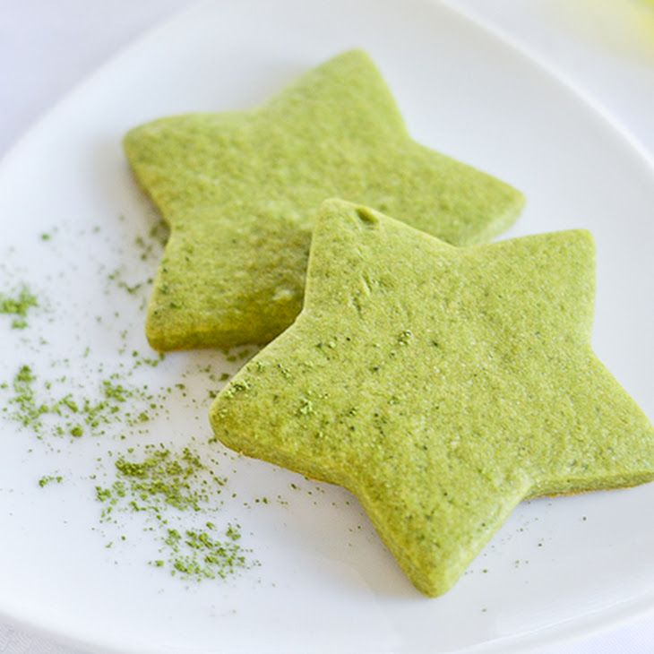 Matcha Green Tea Sugar Cookies