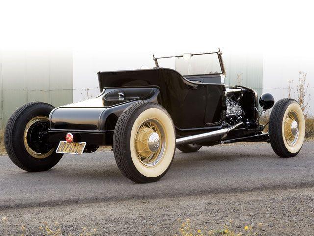 Isky Legend Bill Schoenleber S 1924 Ford Model T Roadster