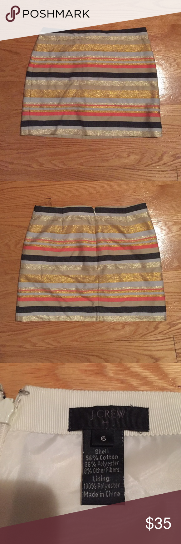J. Crew Sparkle Skirt J Crew Sparkle Skirt. Perfect colors for fall! J. Crew Skirts