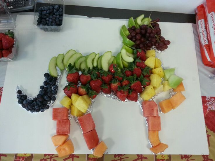 Horse Shaped Fruit Platter