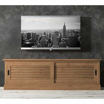 television stand antique pine