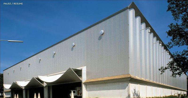 Santiago Calatrava - Ernstings Warehouse Coesfeld Lette Germany - küchen stall coesfeld