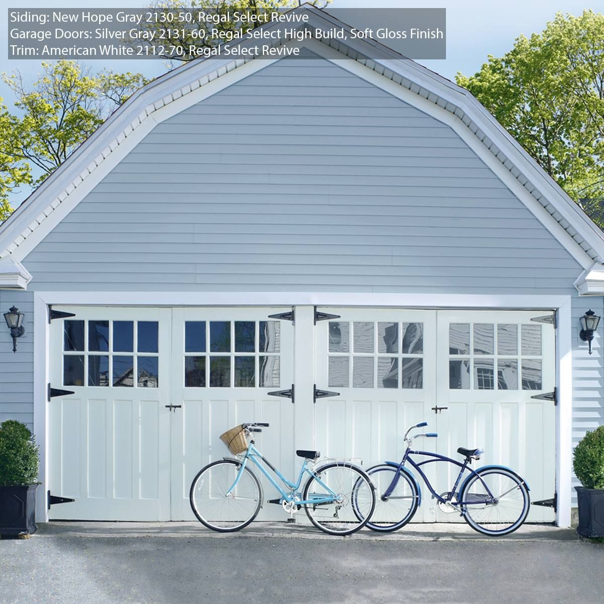 Exterior Home Color Ideas: Regal Select Revive By Benjamin Moore Is Designed