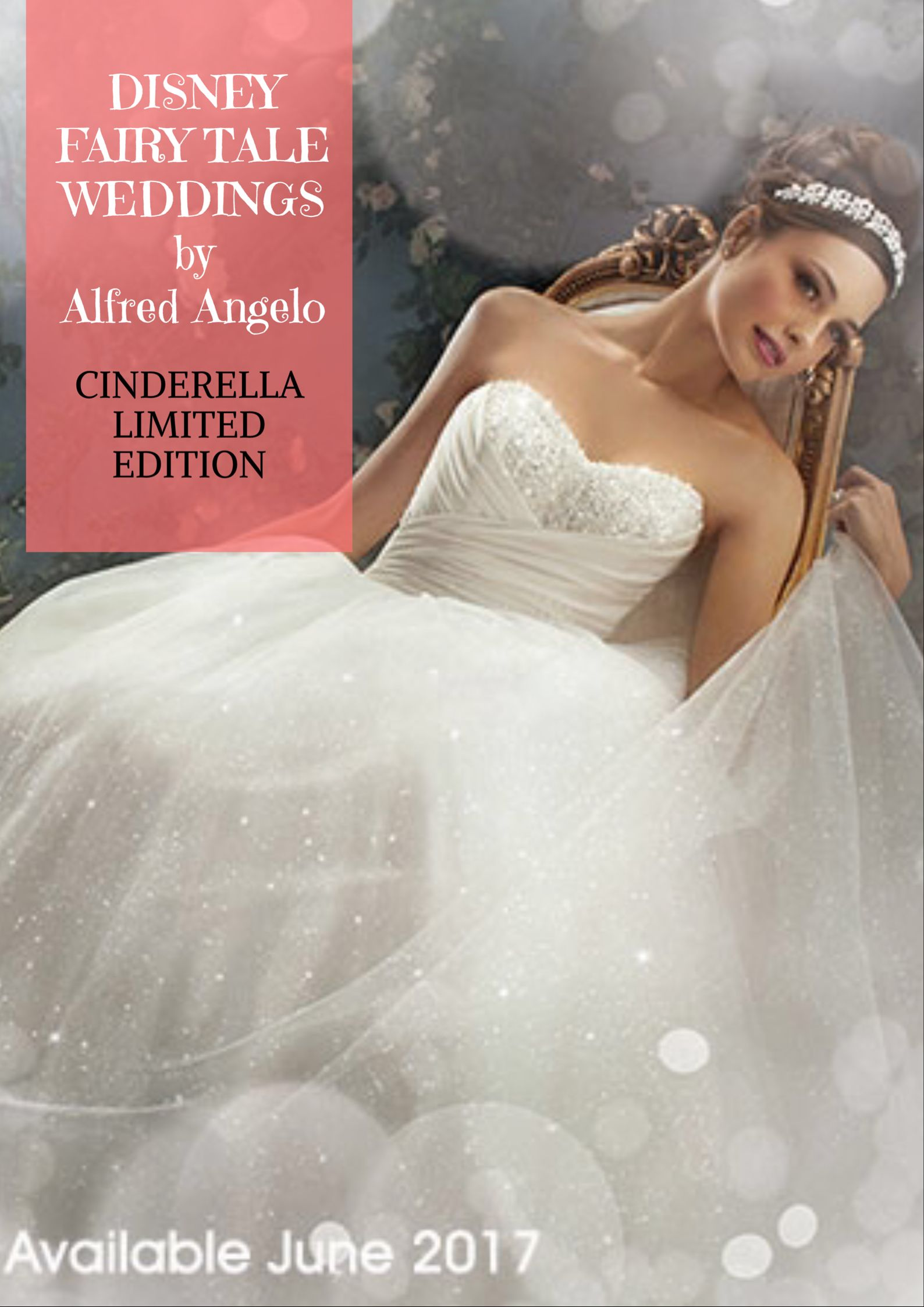 Cinderella wedding dress alfred angelo  Disney Princess Cinderella wedding dress design for Limited