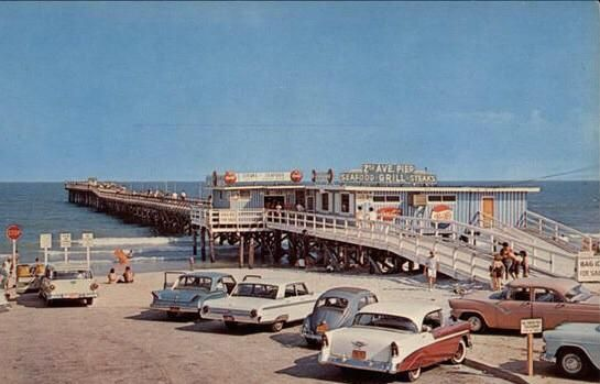 2nd Avenue Pier Myrtle Beach South Carolina 1950s