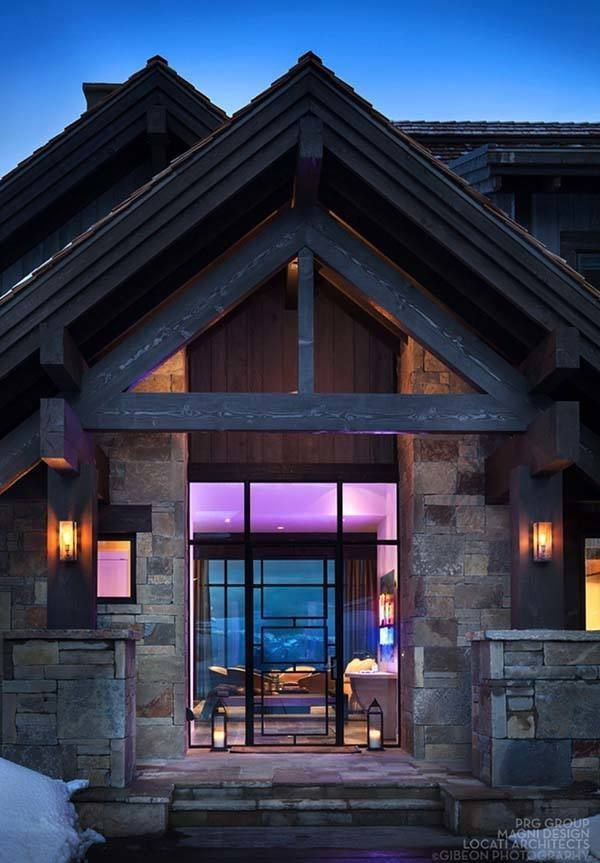 Sumptuous Mountain Retreat In Montana: Castle In The Sky
