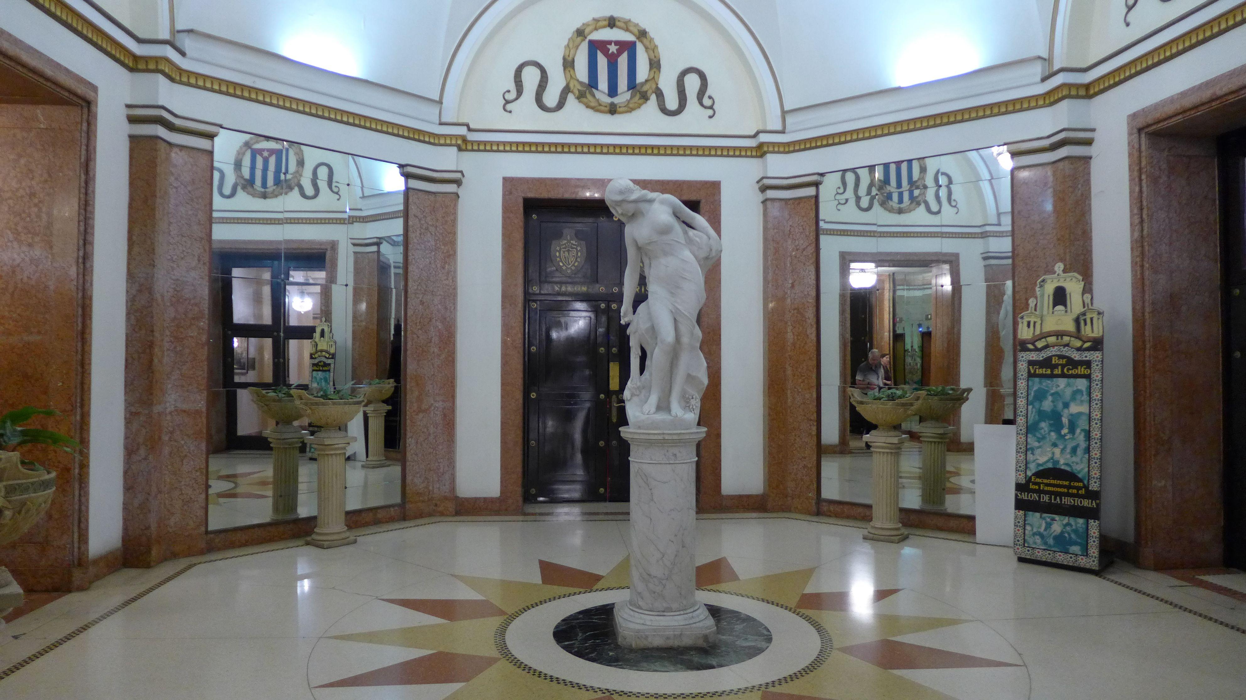 #Hotel Nacional de #Cuba in #Havanna #Eingangshalle