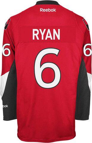 Reebok Ottawa Senators Premier Replica Home Jersey-Bobby Ryan #6