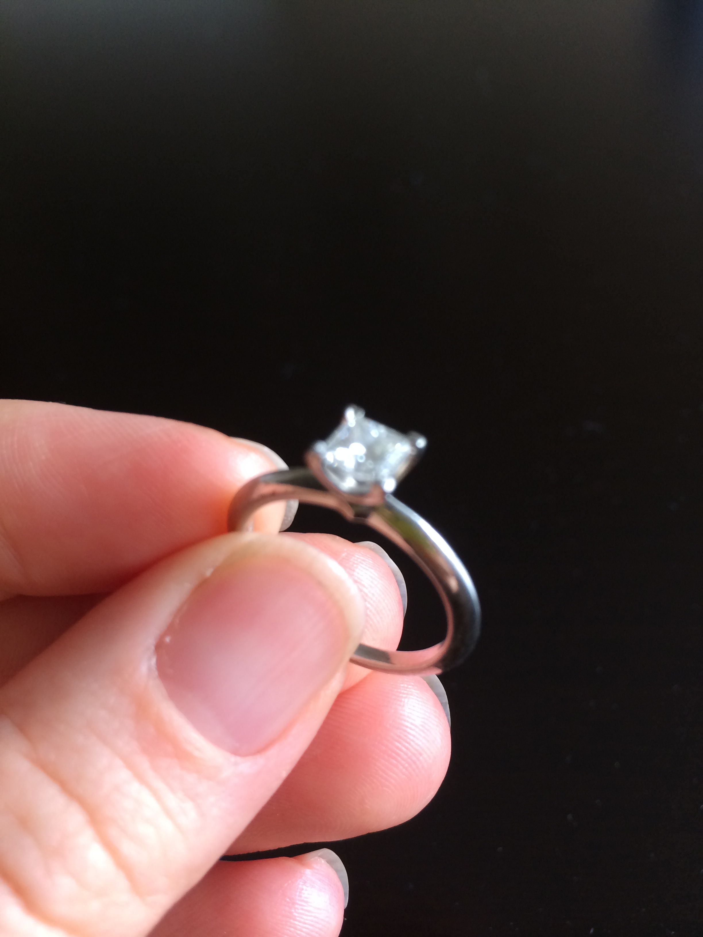 My engagement ring! My favourite piece of jewelry:) #OpulentMe