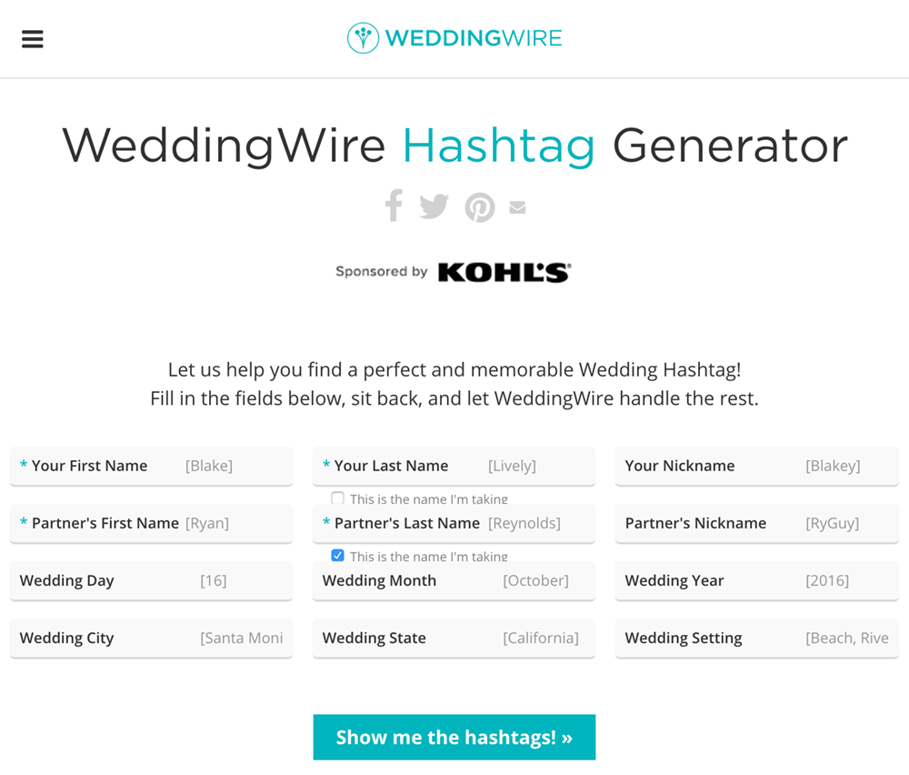 From Wedding Hashtags to Snapchat Filters 6 Tips For