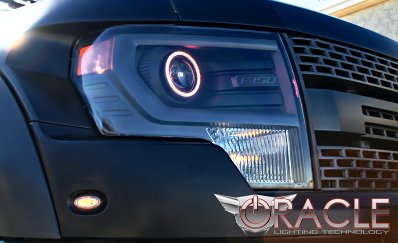 2013-2014 ford f150 oracle halo kits (models w/ projector headlights