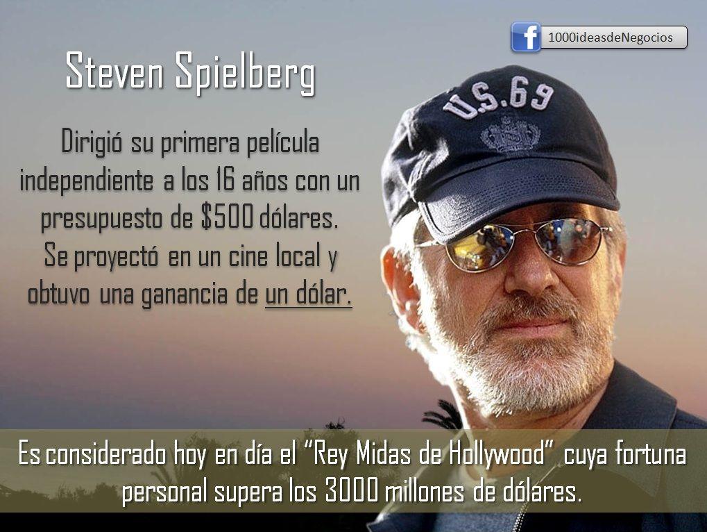 El Productor Steven Spielberg Es Un Emprendedor Y Un Gran