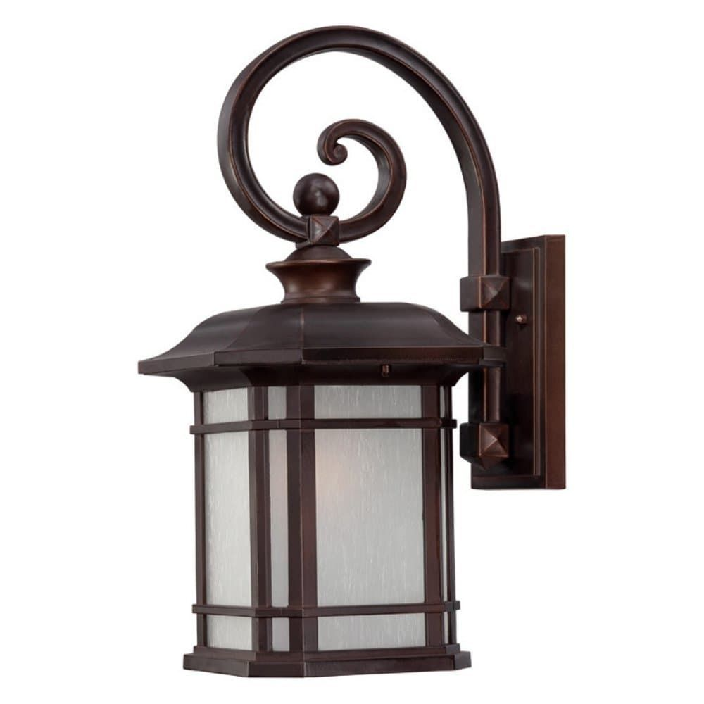 Acclaim Lighting Somerset Collection Wall Mount 1 Light Outdoor  Architectural Bronze Light Fixture (