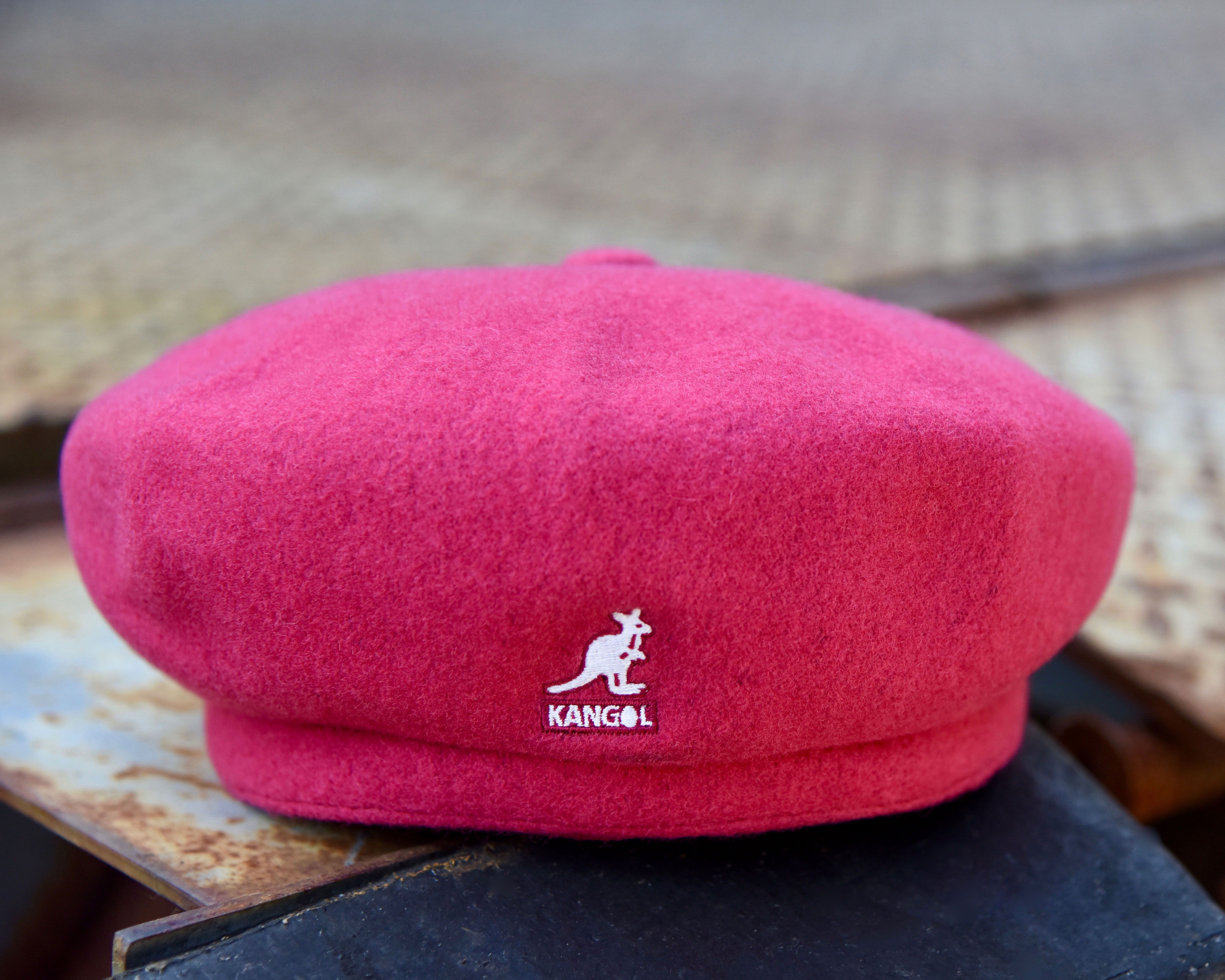The Wool Jax Beret has impressions creating 8 quartered panels on the crown  with a fillet 396899c39eb