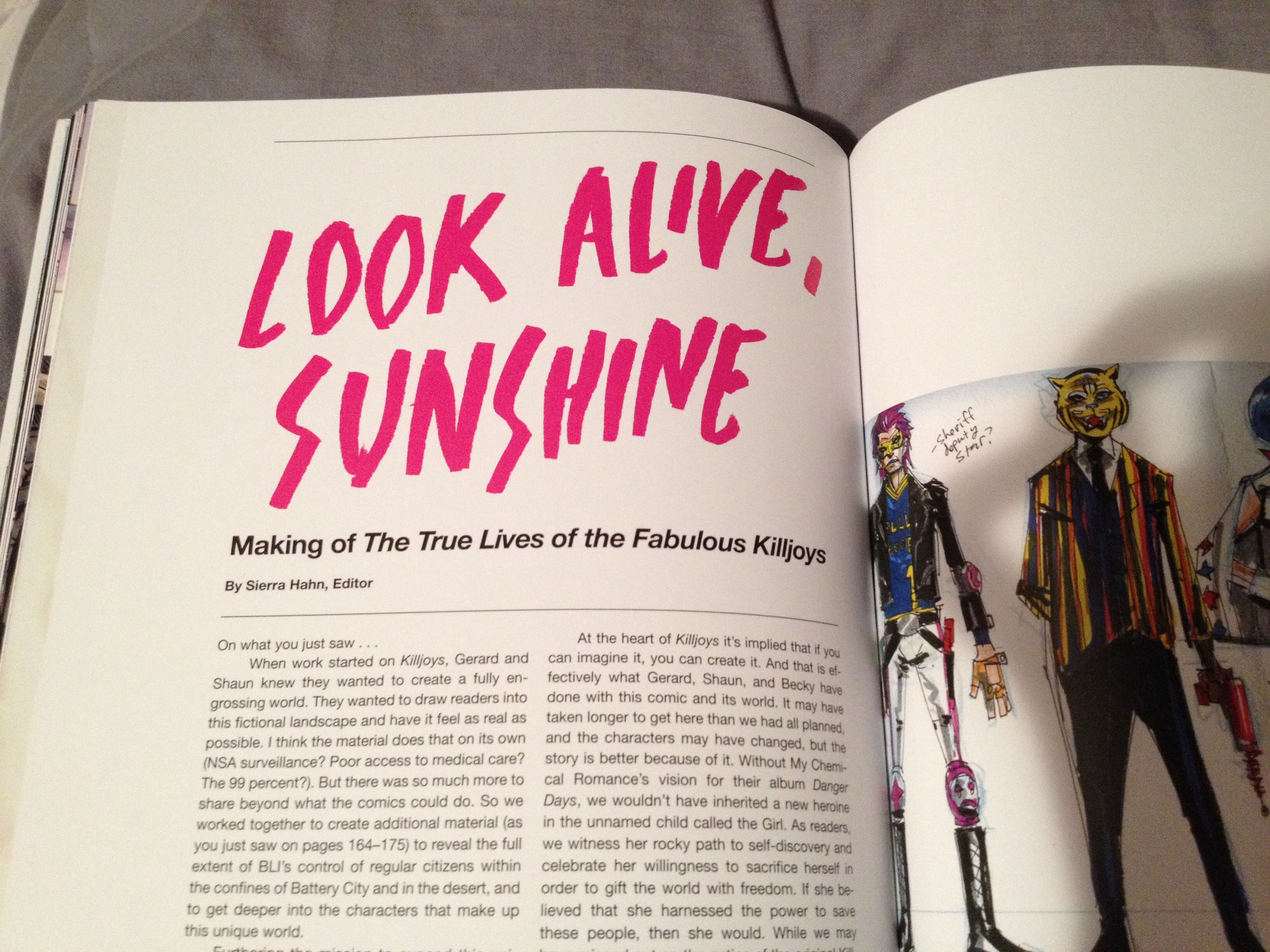 The True Lives Of The Fabulous Killjoys - Limited Edition Hardcover (boxed only 2,500 copies)