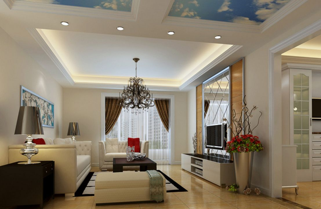 30 Latest False Ceiling Design For Rectangular Living Room Glamorous Ceiling Designs For Living Rooms Design Decoration