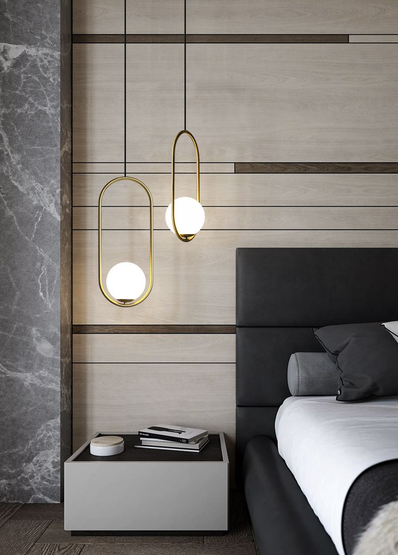 Nórdicos lámparas colgante cama colgantes pequeñas luces lcTJ1FK