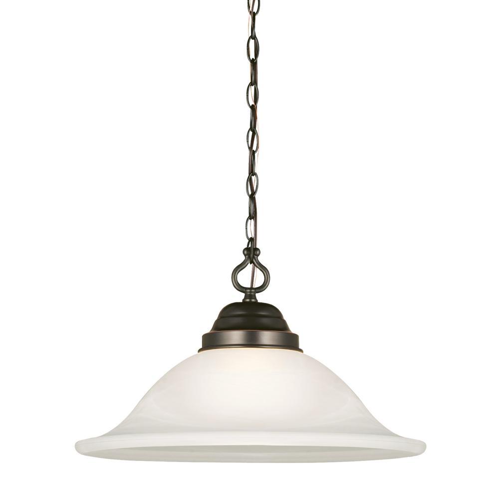 Design House Millbridge 14 3 4 In 1 Light Oil Rubbed Bronze Swag Light 517664 The Home Depot Swag Light Fan Bulbs Pendant Lighting