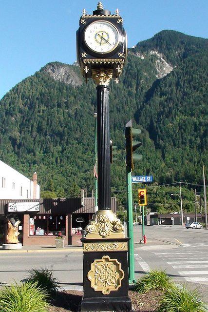 Hope British Columbia: Town Clock by Karen Morton's Pics, via Flickr. www.HopeBC.ca