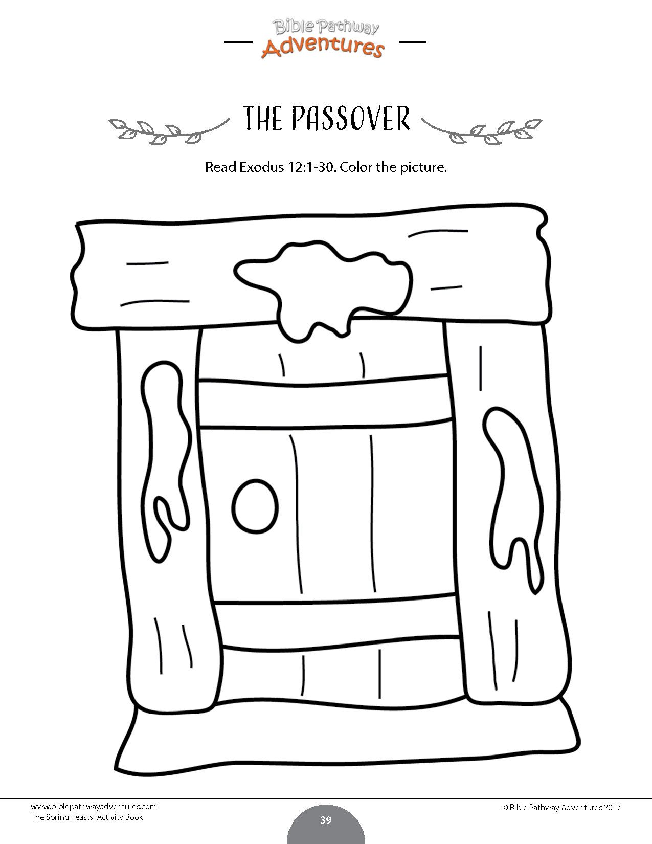 The Passover Story Activity Books Amp Lesson Plans Bundle