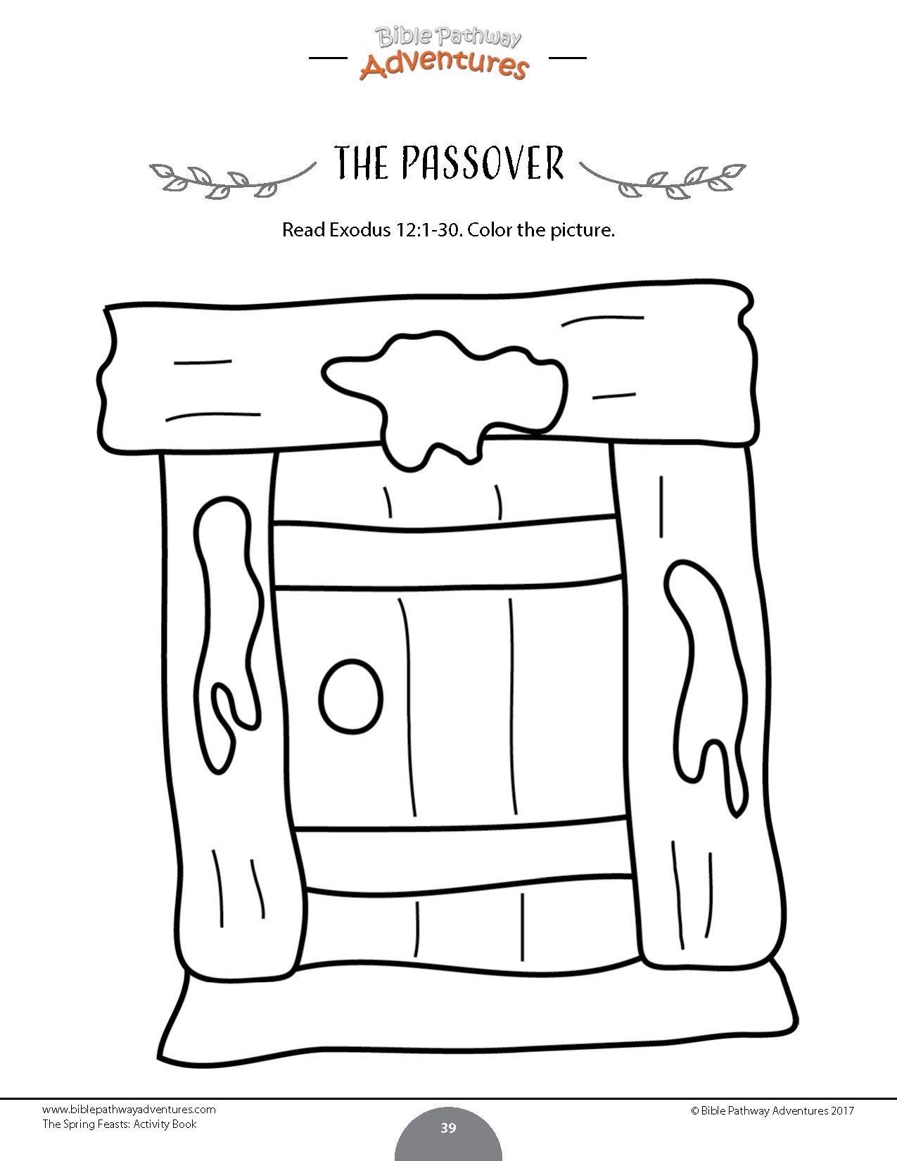 The Passover Story Activity Books Amp Lesson Plans Bundle