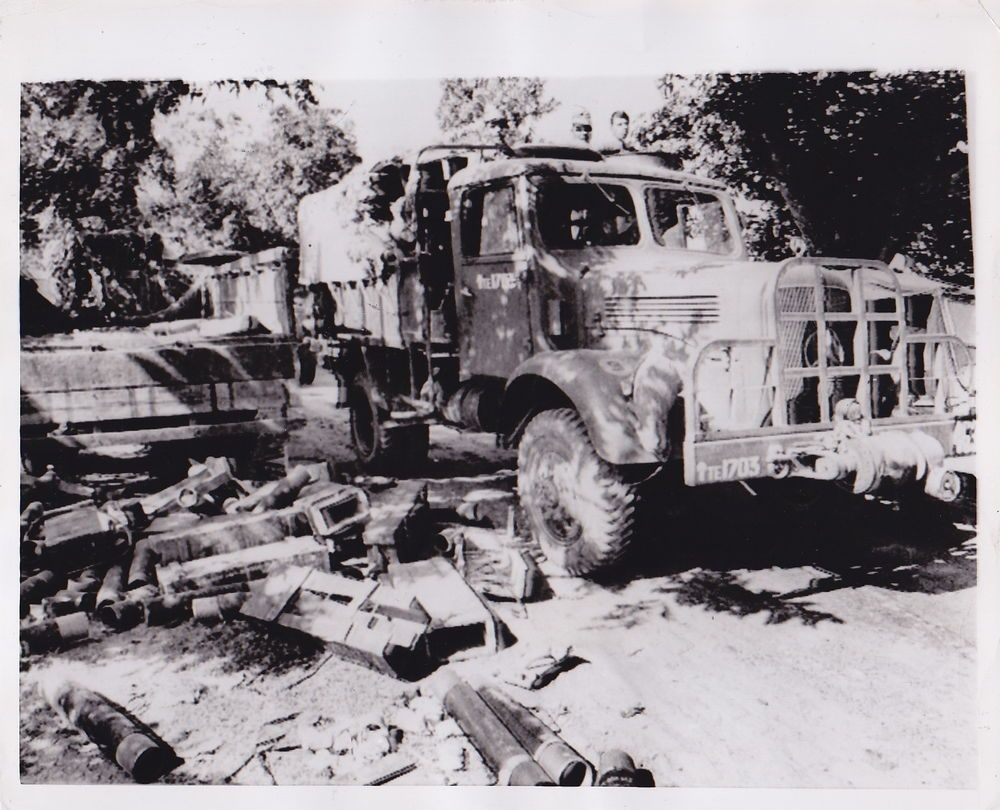 Dave Kennerly Indian Army Truck East Pakistan Rare Vintage 1971
