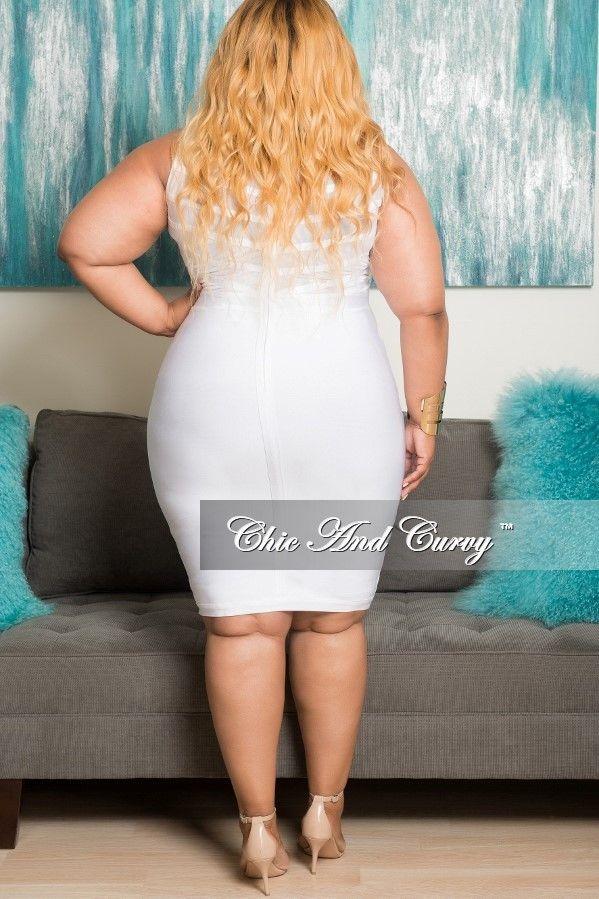 Ebony bbw white