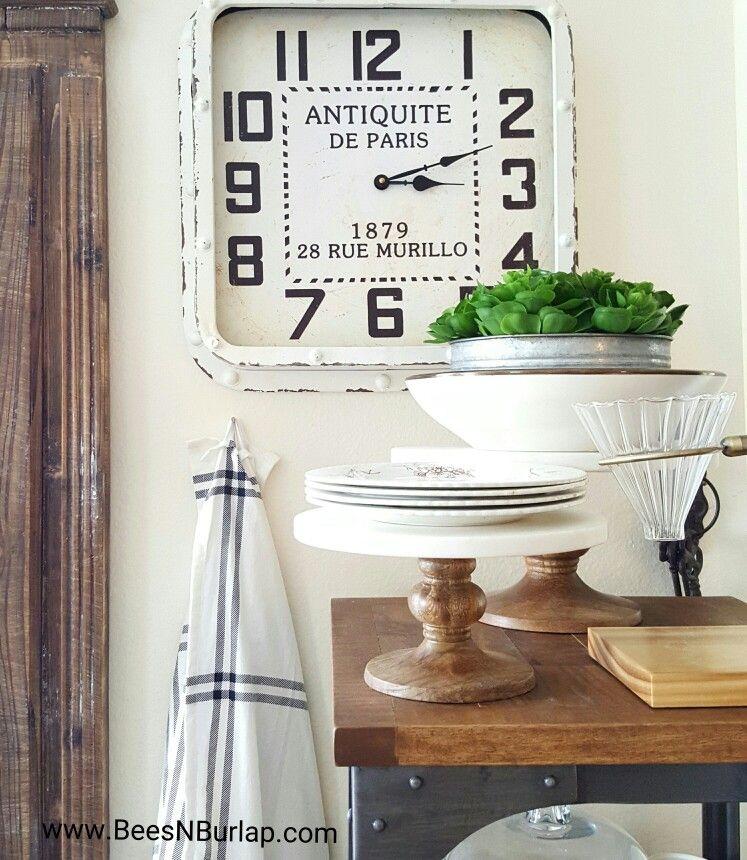 Industrial Farmhouse White Kitchen Decor Homegoods Metal