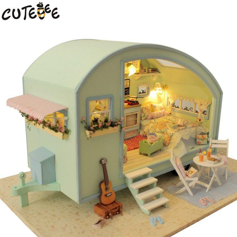 ENDUL Nuevo 1:12 Casa de mu/ñecas L/ámpara en Miniatura Muebles de luz LED Mu/ñecas de Juguete Juego de simulaci/ón