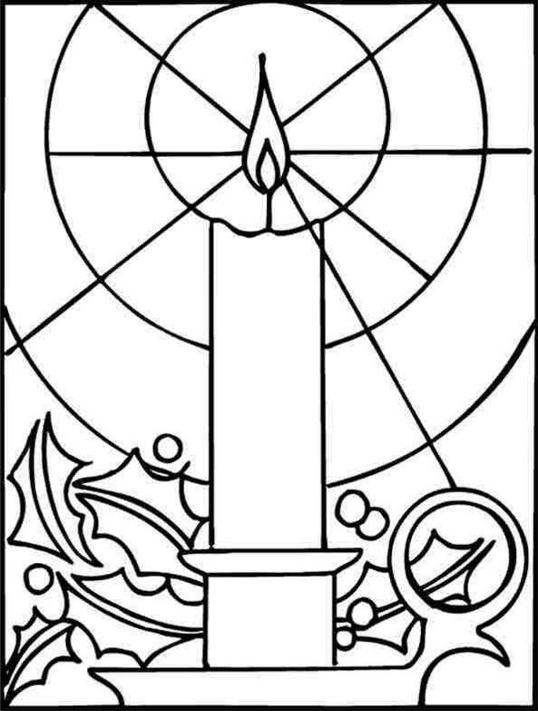 Stained Glass Candle Coloring Page How To Find Stained Glass Coloring Pages Free Christmas Coloring Pages Christmas Coloring Pages Christmas Coloring Books