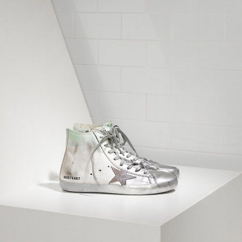 Golden Goose Damen Francy Sneakers In Leather And Suede Star
