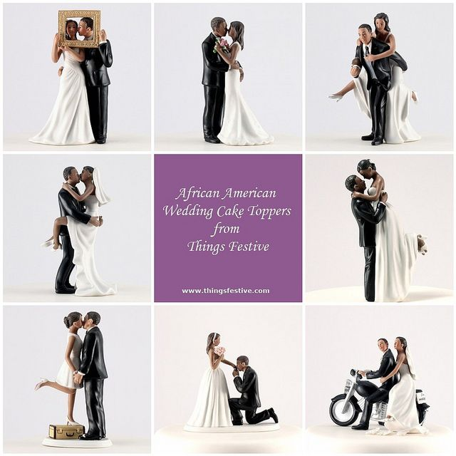 African American Wedding Cake Toppers