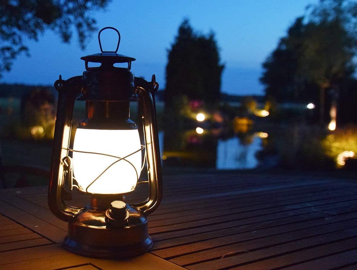 Retro Leuchte Mit Dimmbaren Leds Warmweisses Licht Led Schalter Mit Dimmfunktion Die Leuchte Schafft Eine Angenehme Atmosphare In 2020 Laterne Garten Led Laterne