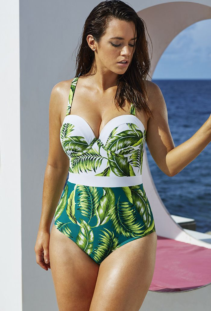 deadfd531fde0 Finally... affordable swimsuits for D/DD cup: Paradise Found Underwire One  Piece $68.60
