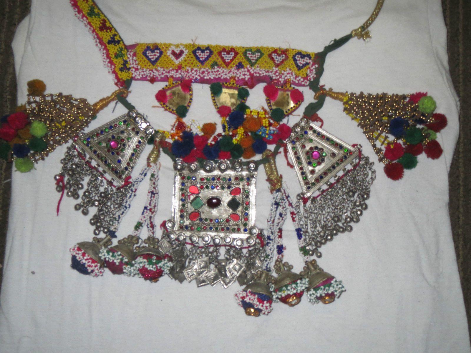 Vintage Kuchi Tribal Camel Necklace | eBay