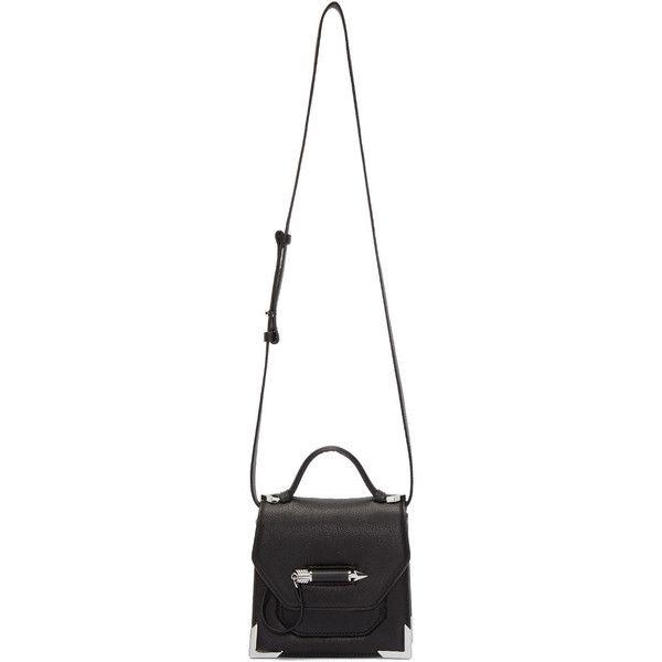 Mackage Black Rubie Shoulder Bag (4.092.225 IDR) ❤ liked on Polyvore featuring bags, handbags, shoulder bags, mackage, shoulder handbags, kiss-lock handbags, shoulder bag handbag and locking purse