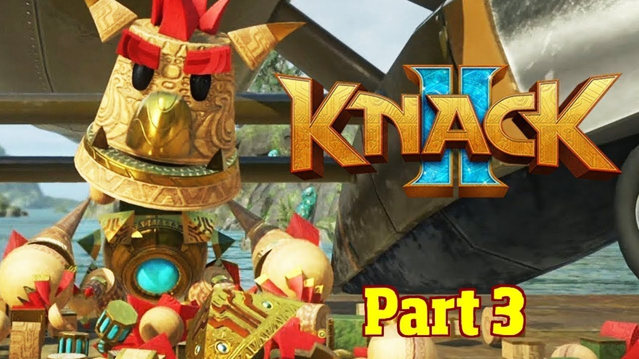 KNACK 2 PS4 Lets Play Gameplay Walkthrough Playthrough