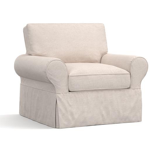 Pb Basic Slipcovered Armchair Furniture Slipcovers